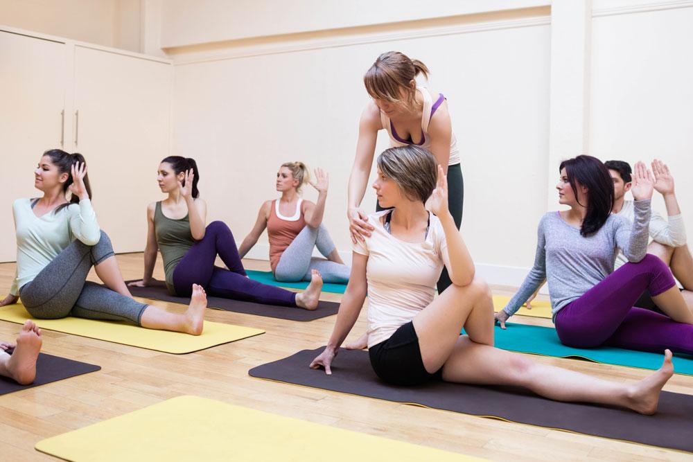 Обучение йоге с картинками